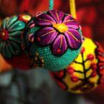 Esferas Navidenas con detalles Mexicanos (3)