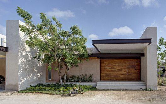 Fachadas para casas pequeñas