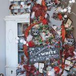 Formas de decorar tu arbol de navidad con liston (10)