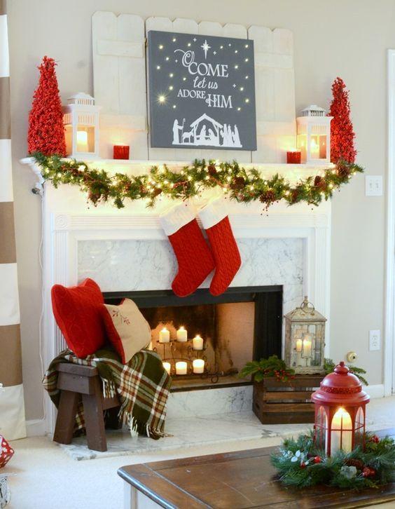 Guirnaldas para decorar en navidad 18 for Ambientacion para navidad