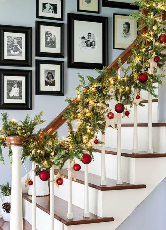 Guirnaldas para decorar en navidad (22)