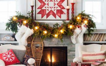 Guirnaldas para decorar en navidad