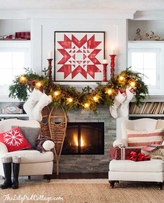 Guirnaldas para decorar en navidad (4)