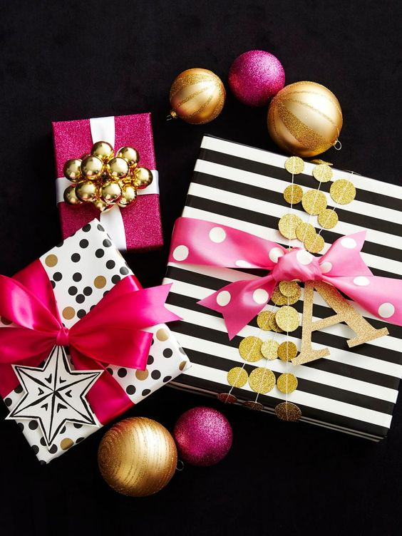 Envolturas navideñas femeninas