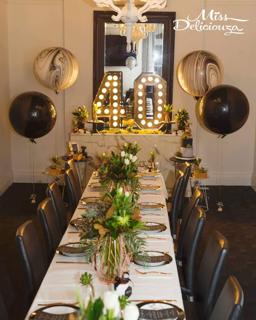 Ideas para decorar cumplea os de 40 mujer como organizar for Ideas para decorar y organizar la casa