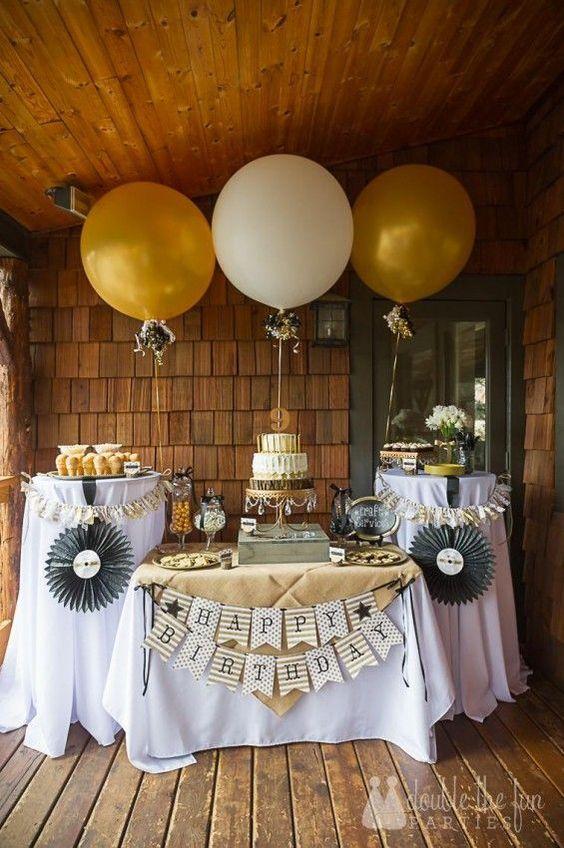 60Th Anniversary Gifts >> Ideas para decorar cumpleaños de 40 mujer | Decoracion de ...