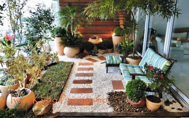 ideas para decorar jardines pequeos - Decorar Jardines Pequeos