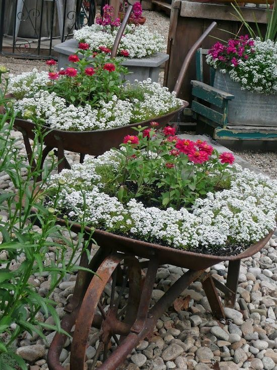 Ideas para jardines rústicos