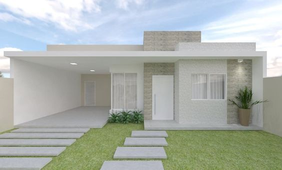 Dise o de jardines para casas conoce las tendencias 2019 for Como hacer una fachada de casa moderna