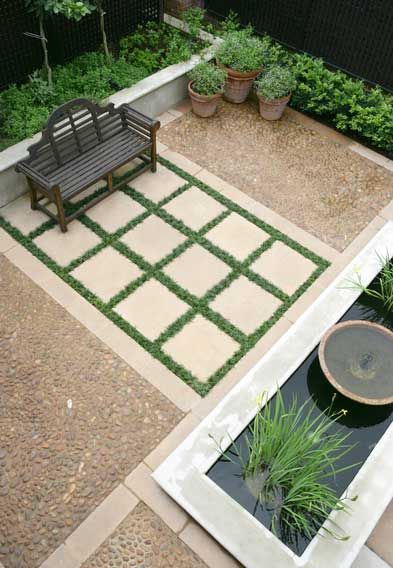 Jardin pequeno moderno 3 decoracion de interiores for Jardin pequeno moderno