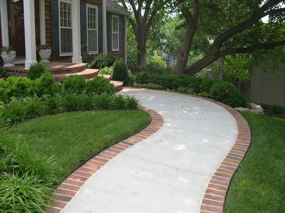 Jardines pequeños para entradas de casas