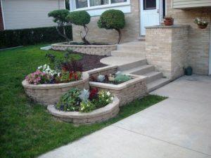 Jardines pequenos para entradas de casas (2)