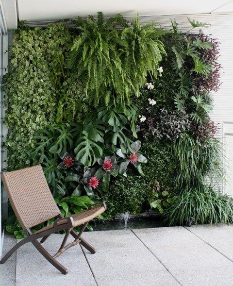 Jardines verticales 1 decoracion de interiores for Jardines verticales casa