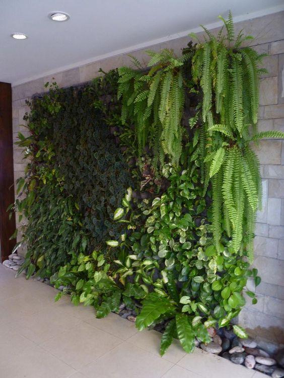 Jardines verticales 3 decoracion de interiores Jardines verticales baratos