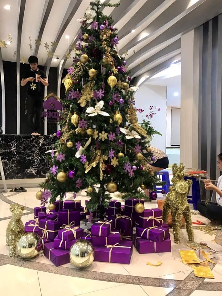 ms de 20 ideas de rboles navideos para tu oficina 27 - Arbol De Navidad Casero