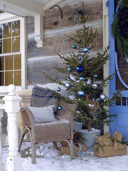 Mas de 150 fotos de decoracion para arboles de navidad modernos (1)