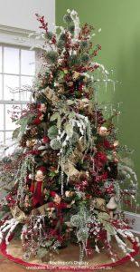 Mas de 150 fotos de decoracion para arboles de navidad modernos (101)