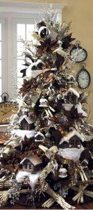 Mas de 150 fotos de decoracion para arboles de navidad modernos (103)
