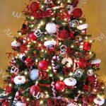 Mas de 150 fotos de decoracion para arboles de navidad modernos (113)