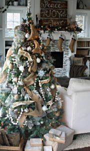Mas de 150 fotos de decoracion para arboles de navidad modernos (12)