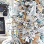 Mas de 150 fotos de decoracion para arboles de navidad modernos (13)