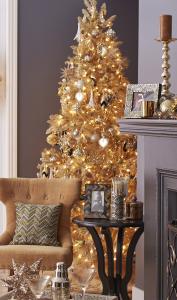 Mas de 150 fotos de decoracion para arboles de navidad modernos (130)