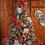 Mas de 150 fotos de decoracion para arboles de navidad modernos (137)