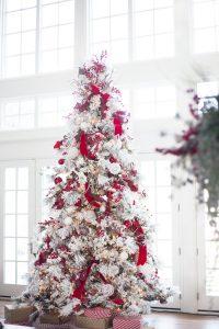 Mas de 150 fotos de decoracion para arboles de navidad modernos (138)