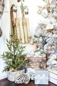 Mas de 150 fotos de decoracion para arboles de navidad modernos (14)