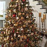 Mas de 150 fotos de decoracion para arboles de navidad modernos (140)