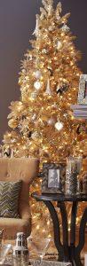 Mas de 150 fotos de decoracion para arboles de navidad modernos (157)