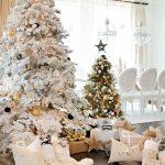 Mas de 150 fotos de decoracion para arboles de navidad modernos (158)