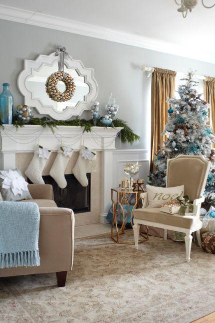 Mas de 150 fotos de decoracion para arboles de navidad modernos (160)