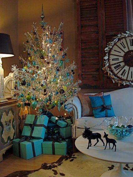 Mas de 150 fotos de decoracion para arboles de navidad modernos (167)