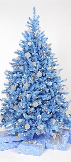 Mas de 150 fotos de decoracion para arboles de navidad modernos (168)