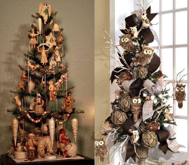 Mas de 150 fotos de decoracion para arboles de navidad modernos (176)