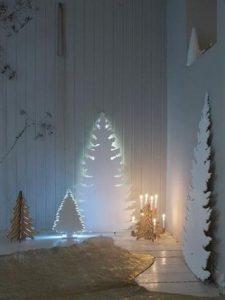 Mas de 150 fotos de decoracion para arboles de navidad modernos (179)