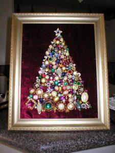 Mas de 150 fotos de decoracion para arboles de navidad modernos (46)