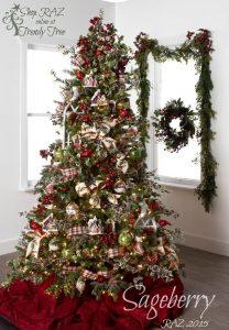Mas de 150 fotos de decoracion para arboles de navidad modernos (49)