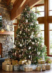 Mas de 150 fotos de decoracion para arboles de navidad modernos (5)