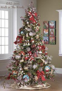 Mas de 150 fotos de decoracion para arboles de navidad modernos (61)