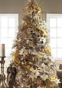 Mas de 150 fotos de decoracion para arboles de navidad modernos (63)