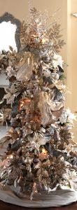 Mas de 150 fotos de decoracion para arboles de navidad modernos (66)