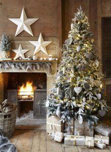 Mas de 150 fotos de decoracion para arboles de navidad modernos (67)