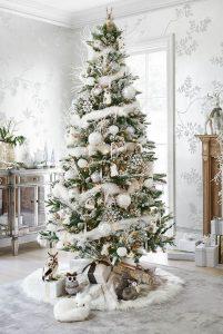 Mas de 150 fotos de decoracion para arboles de navidad modernos (8)