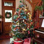 Mas de 150 fotos de decoracion para arboles de navidad modernos (9)