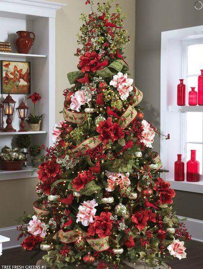 Mas de 150 fotos de decoracion para arboles de navidad modernos (91)