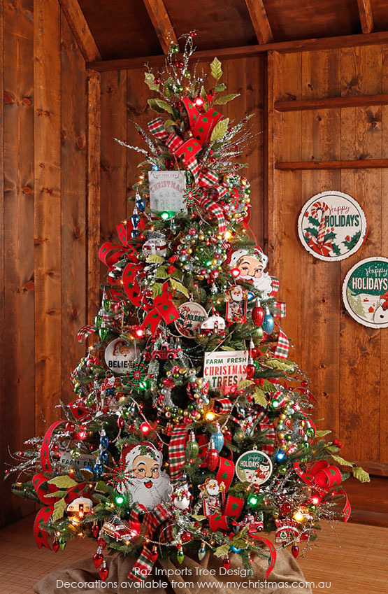 Mas de 200 fotos de arboles de navidad decorados originales tendencia 2018-2019 (121)