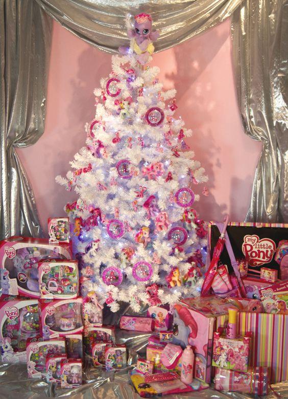 Mas de 200 fotos de arboles de navidad decorados originales tendencia 2018-2019 (169)