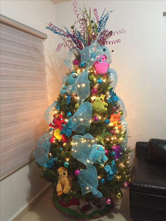 Mas de 200 fotos de arboles de navidad decorados originales tendencia 2019 2020 171 - Imagenes de arboles de navidad decorados ...